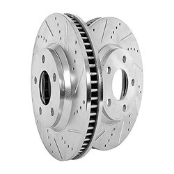 Power Stop (JBR1375XPR) Drilled and Slotted Rotor