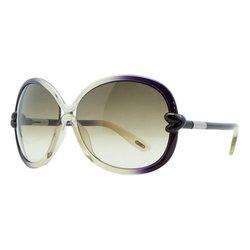 Tom Ford Women's Sonja FT0185 Sunglasses 95P - Olive Plum Gradient Lens