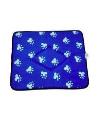 Pyara Paws ComfySpot Cushion - Blue - Size: Large