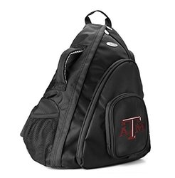 NCAA Texas A&M Aggies Travel Sling Backpack - Black