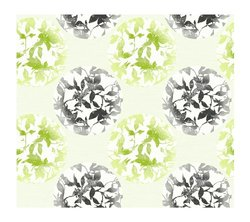 York Wallcoverings Earthbound Prepasted Wallpaper - Green/Black