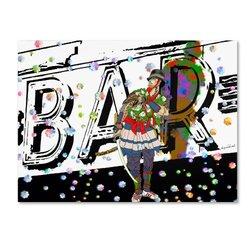 """Trademark Fine Art """"Bar Warrior"""" Artwork by Miguel Paredes, 14 by 19-Inch"""