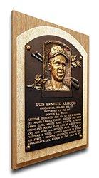 That's My Ticket MLB Luis Aparicio Baseball Hall of Fame Plaque on Canvas