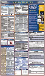 Osha4less Massachusetts All-in-One Labor Law Posters Spanish (MA-A1-S)