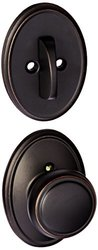 Schlage Lock Knob Dummy Interior Pack with Deadbolt Cover Plate