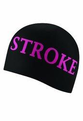 Speedo Silicone Breast Stroke 4 Hope 'I Heart Breast Stroke' Swim Cap, Black