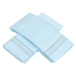 Sweet Home Collection 1500 Series Egyptian Quality Deep Pocket Pillowcase, King, Aqua