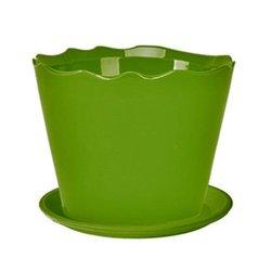 Deroma Cylin Planter - Green