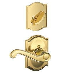 Schalge F94FLA605CAMRH Brass Interior Pack Lever Right Dummy Interior Pack