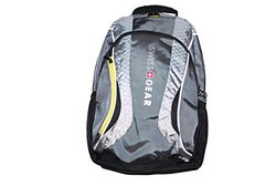 Swiss Gear The Mercury Backpack with Laptop Compartment -Black/ Steel Grey