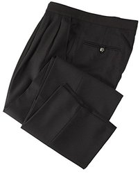 Smitty Women's Comfort Tech Pleated Pants - Black - Size: 4