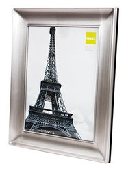 "Nexxt Devyn Metal Picture Frame Velvet Backing - Pewter Finish - 8""X 10"""