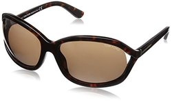 Tom Ford Women's Vivienne Sunglasses - avana Frame/Brown Lens - Size: 61mm