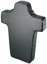 Markwort Football Torso Shield - Black - 5-Inch