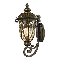 ELK Lighting Logansport 4507 1-Light Outdoor Wall Sconce (45072/1)