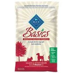 Blue Buffalo Basics Dry Dog Food, Salmon & Potato Recipe, 11-Pound Bag