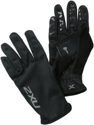2XU All Season Run Gloves - Black - Size: Large/X-Large