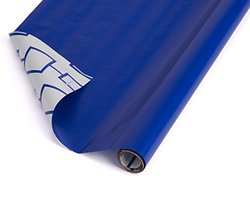 American Greetings 2.5'x12' Reversible Wrapping Paper - Blue/White