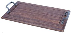 A&B Home Wooden Tray, 13.8 by 3.2 by 24-Inch