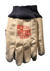 Brookville Men's Heftee Work Glove - Beige - Size: Large