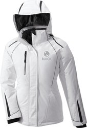 Buick Women's Insulated Jacket - White - Size: XX-Large