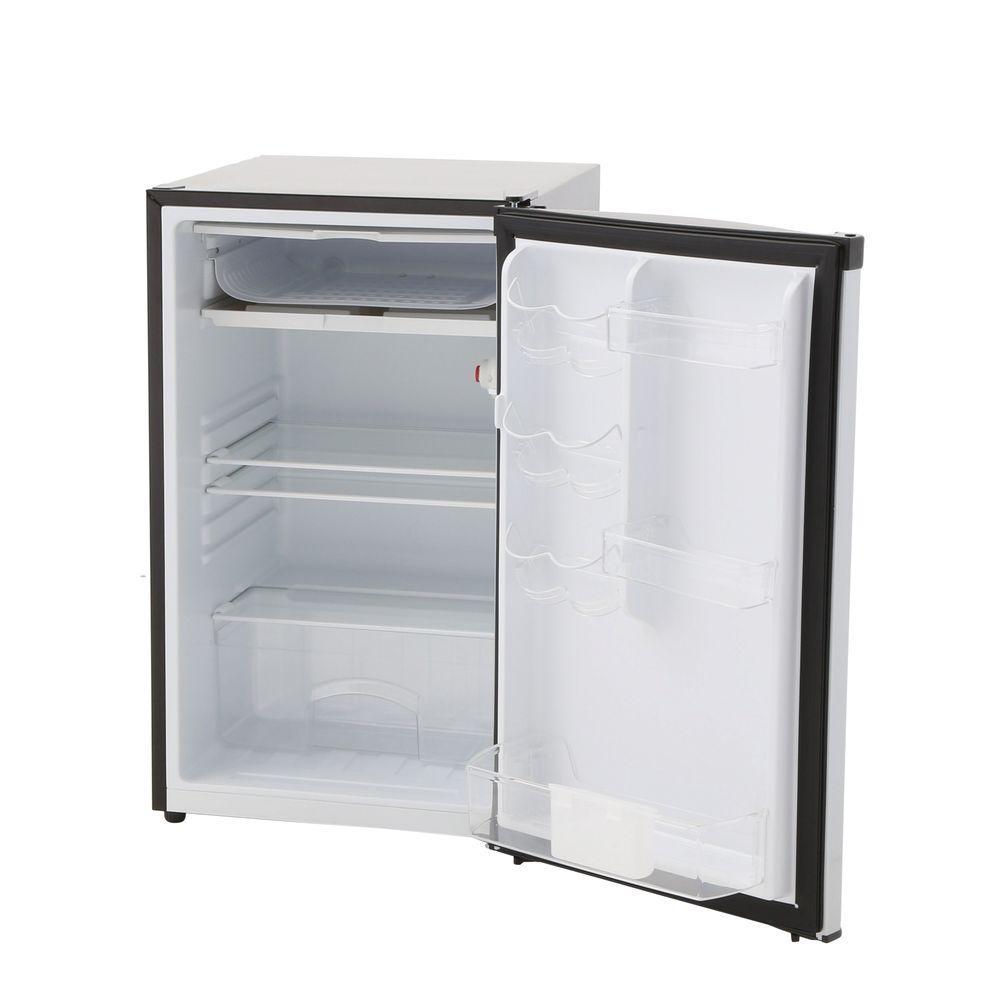 Magic Chef 4.4-cu.ft. Mini Refrigerator - Stainless Look (HMBR440SE ...