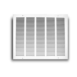 TruAire 16 in. x 12 in. White Return Air Grille