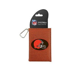 NFL Cleveland Browns Football Classic ID Holder - Brown