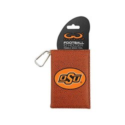 NCAA Oklahoma State Cowboys Classic Football ID Holder - One Size - Brown