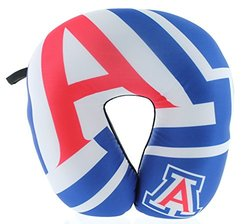 NCAA Arizona Wildcats Impact Neck Pillow, 11-Inch x 12-Inch x 3.5-Inch, Red