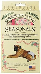 Seasonals Washable Dog Diaper, Fits X-Large Dogs, Pink Flowers