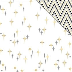 Teresa Collins 25 Sheets Seeing Stars Glam Factor Double-Sided Cardstock, 12 x 12""
