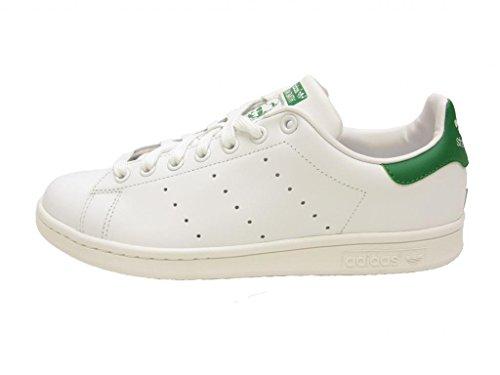 adidas originali uomini stan smith scarpe bianco / bianco / fairway