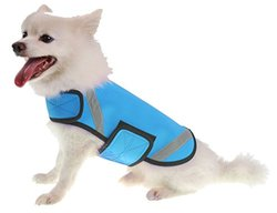 Extreme Neoprene Multi-Purpose Protective Shell Dog Coat, Blue, MD