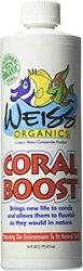 Marc Weiss Organics Coral Boost Aquarium Water Treatments, 16-Ounce