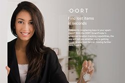 OORT SmartFinder Bluetooth Smart Tracking Device for iOS & Android - White