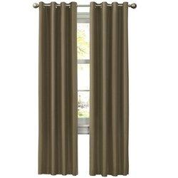 Maytex Mills Wesley Thermal Window Curtain, 52 by 84-Inch, Green