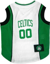 NBA Pet Mesh Tank Top Boston Celtics - Size: Medium