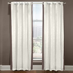 Veratex American Collection Grommet Central Park Curtain Brown