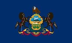 Heath Outdoor 23039 2-Feet by 3-Feet Pennsylvania Flag