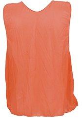 Champion Sports Youth Practice Vest, Fluorescent Orange (1 Dozen)