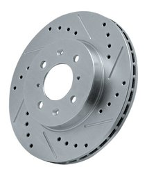 Power Stop AR8141XL Cross Drilled and Slotted Performance Brake Rotor - Left