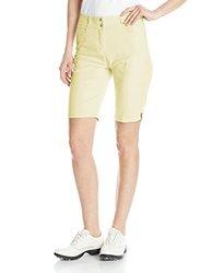 adidas Golf Women's Essentials Lightweight Bermuda Shorts, Faded Sun, 6