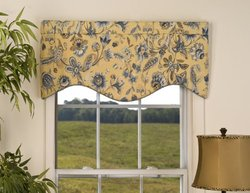 Victor Mill Cherborg Shaped Valance