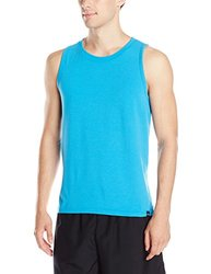 prAna Men's Ridge Tech Tank Top - Danube Blue - Size: XX-Large