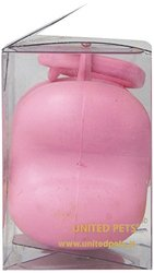 Petego United Pets Bon Ton Nano Luxury Dog Waste Bag Dispenser - Pink