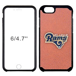 NFL St. Louis Rams Classic Football Pebble Grain Feel iPhone 6 Case, Brown