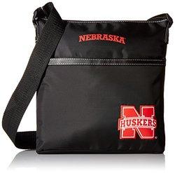"Concept One NCAA Kansas Jayhawks Betty 10"" Crossbody Bag - Black"