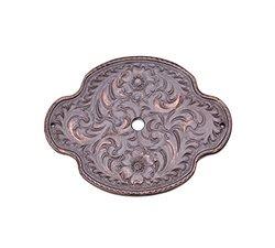 Carpe Diem Hardware 8008-22 Oval Tularosa Escutcheon, Oil Rub Bronze