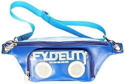 Fydelity Namesake BUMP BAG Shoulder Bag, Blue